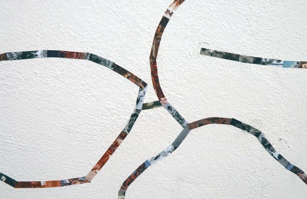 Suite - 2005, collage di fotografie su parete